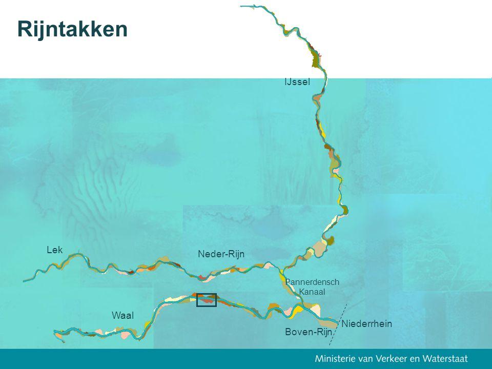 Rijntakken IJssel Lek Neder-Rijn Waal Niederrhein Boven-Rijn