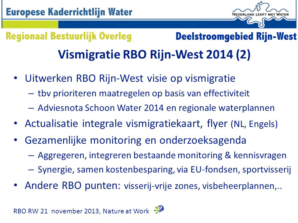 Vismigratie RBO Rijn-West 2014 (2)