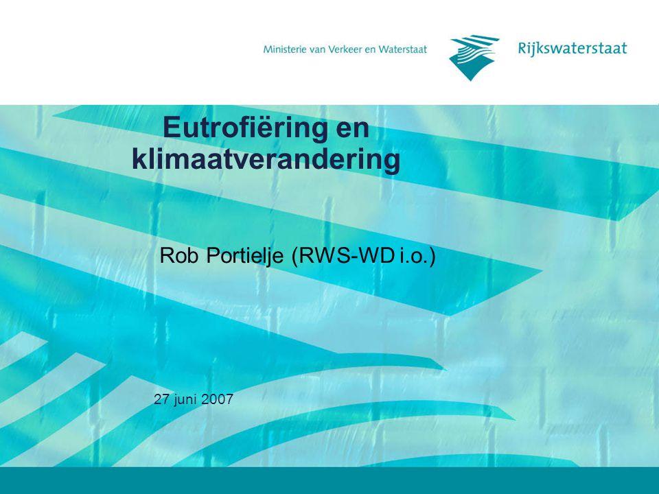 Eutrofiëring en klimaatverandering