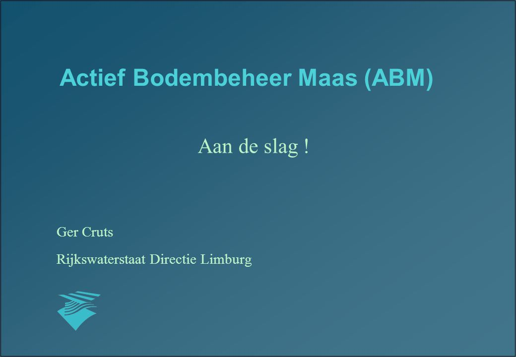 Actief Bodembeheer Maas (ABM)