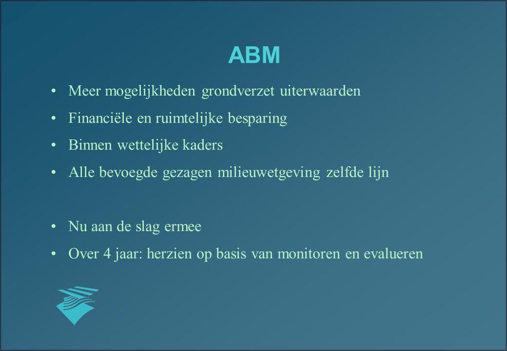 ABM Meer mogelijkheden grondverzet uiterwaarden