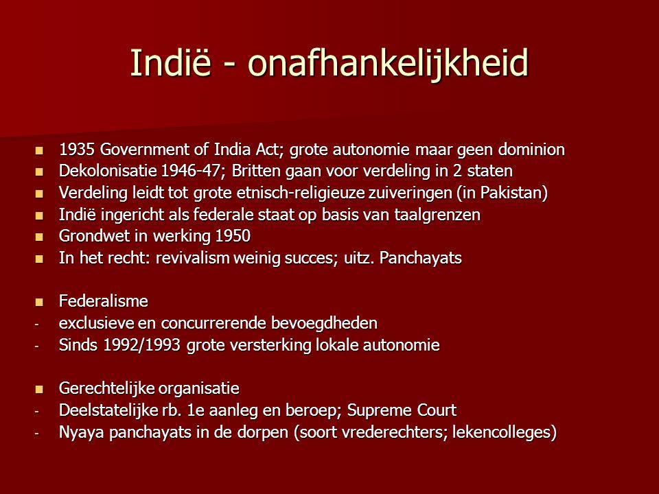 Indië - onafhankelijkheid