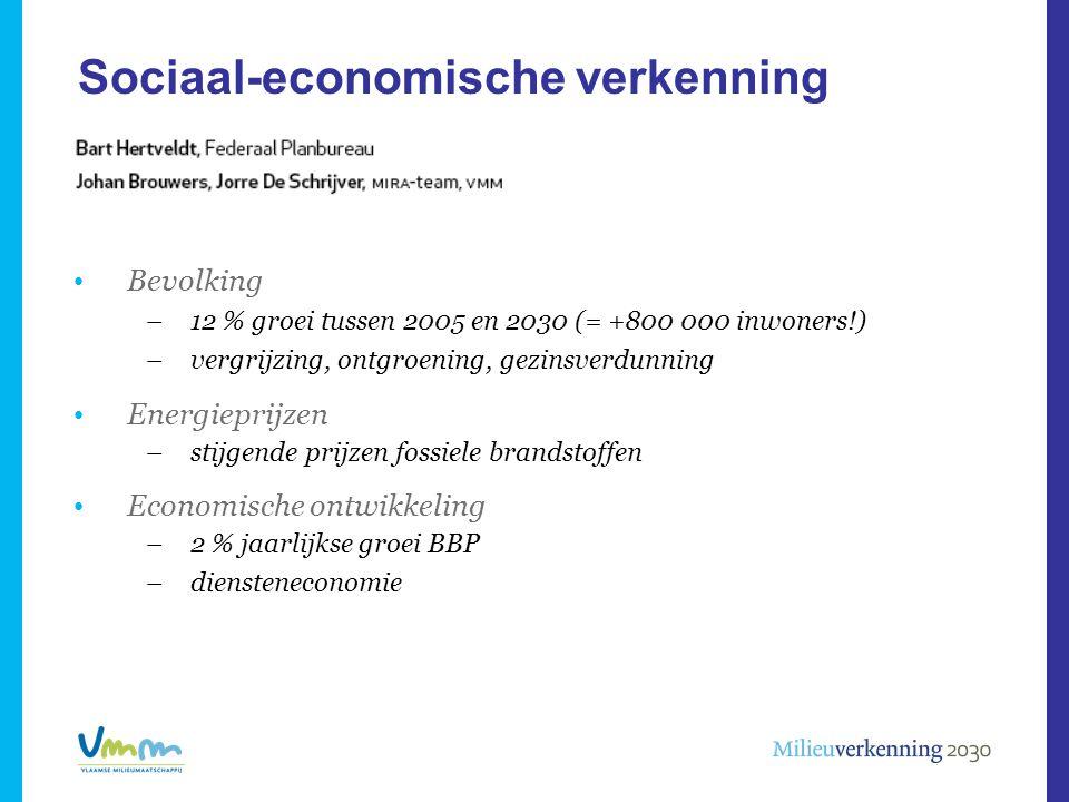 Sociaal-economische verkenning