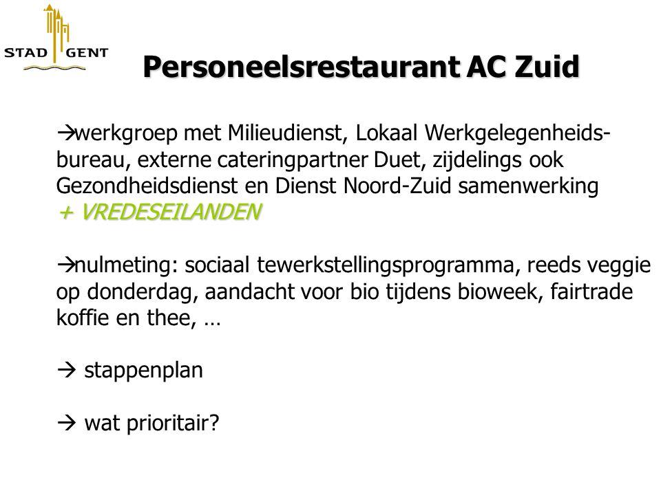 Personeelsrestaurant AC Zuid
