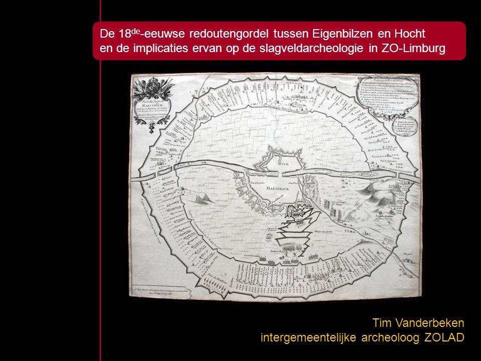 De 18de-eeuwse redoutengordel tussen Eigenbilzen en Hocht