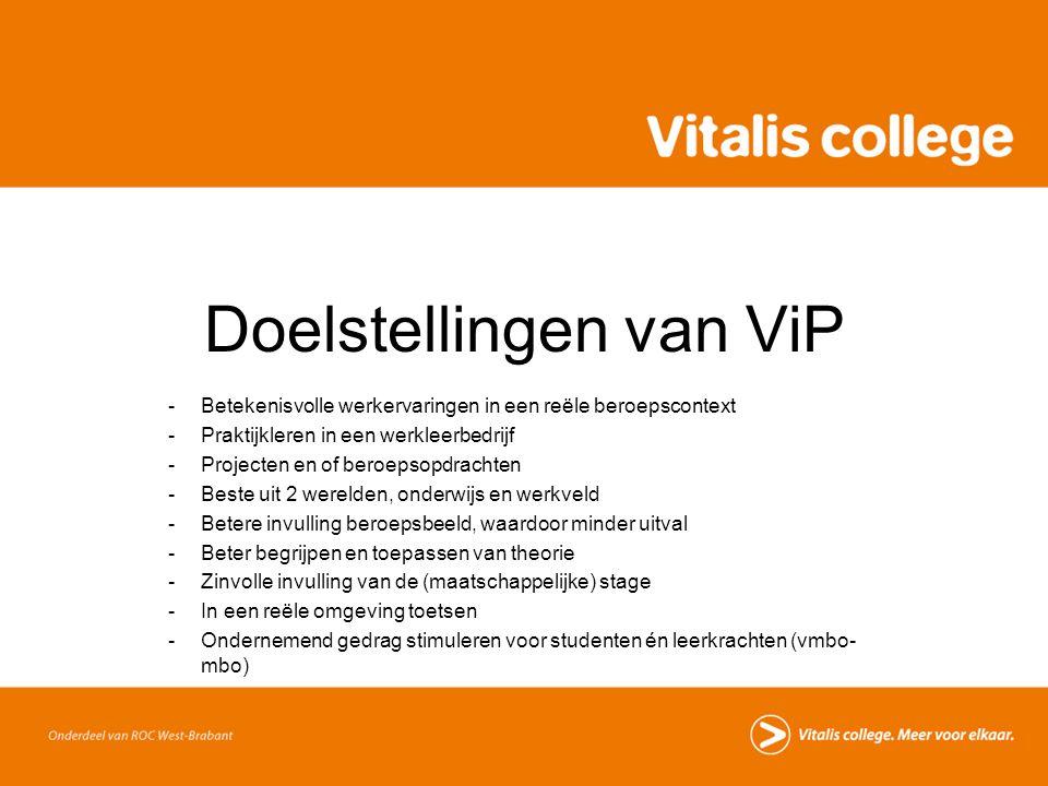 Doelstellingen van ViP