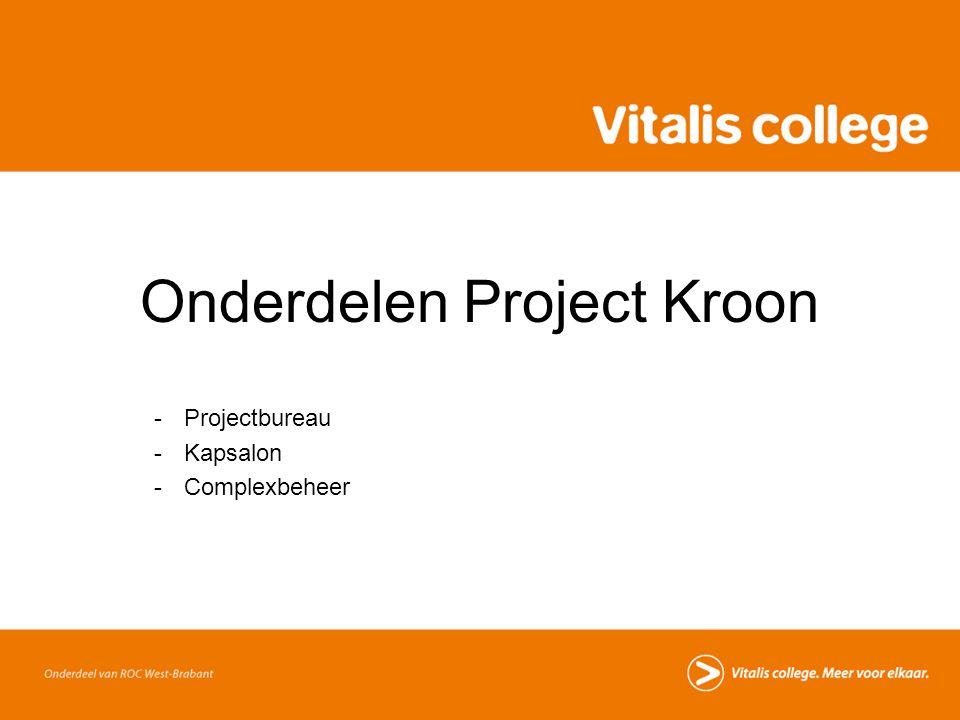 Onderdelen Project Kroon