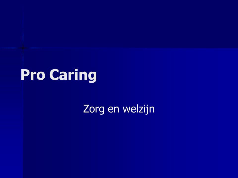 Pro Caring Zorg en welzijn