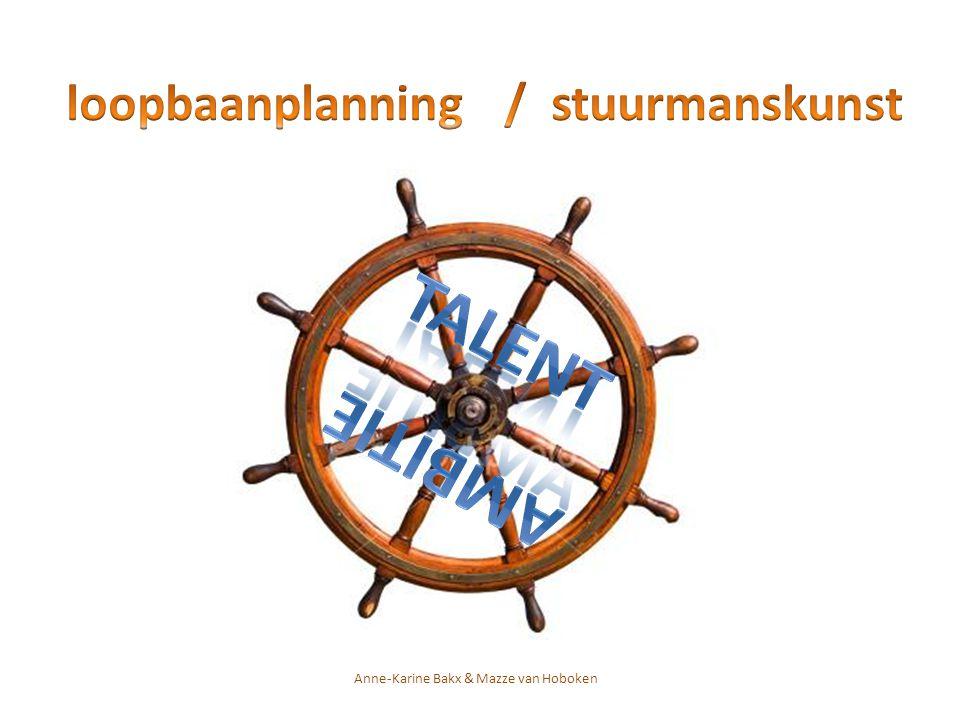 loopbaanplanning / stuurmanskunst