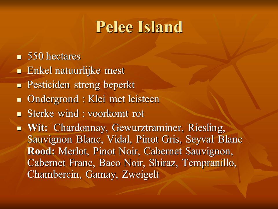 Pelee Island 550 hectares Enkel natuurlijke mest