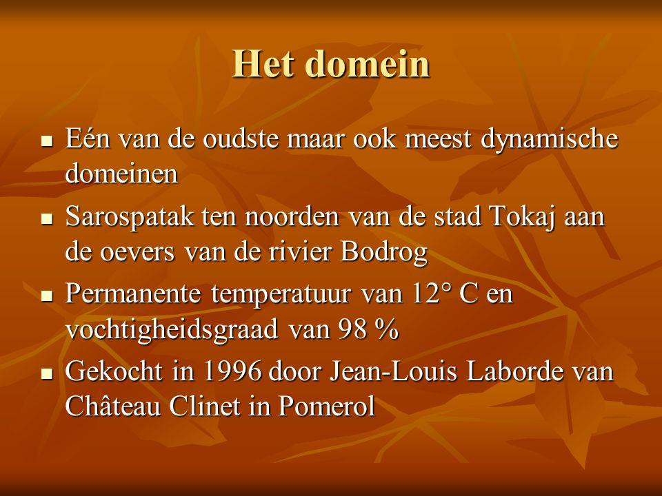 Het domein Eén van de oudste maar ook meest dynamische domeinen
