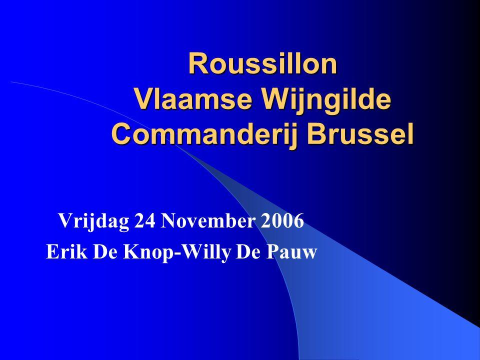Roussillon Vlaamse Wijngilde Commanderij Brussel