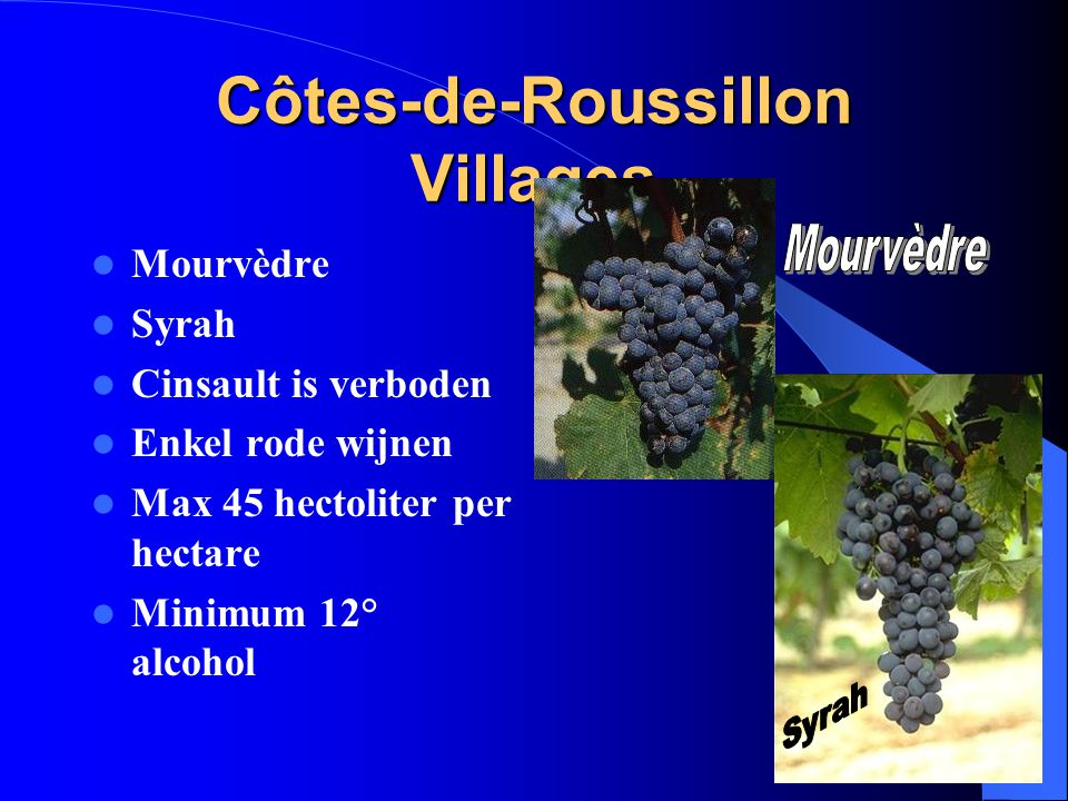 Côtes-de-Roussillon Villages