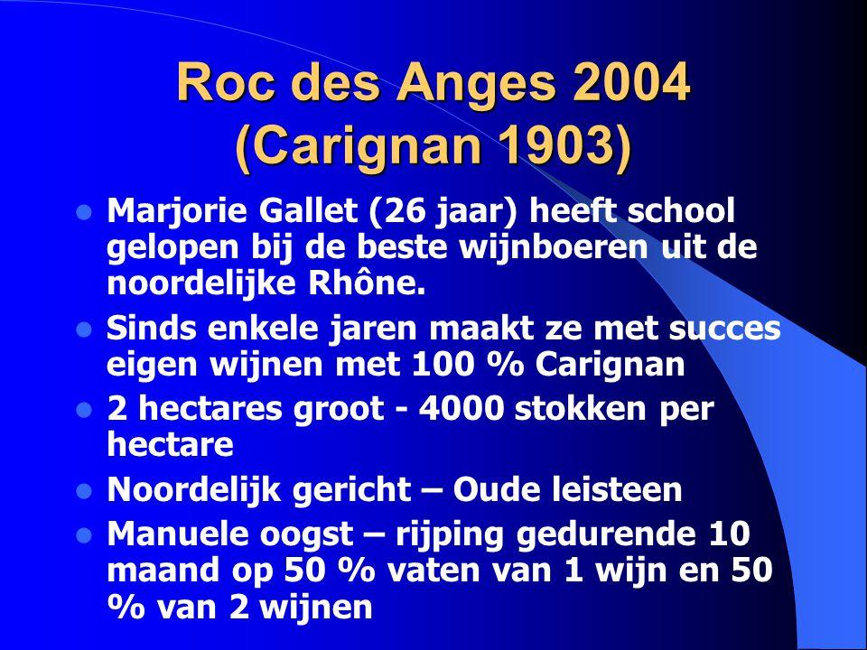 Roc des Anges 2004 (Carignan 1903)