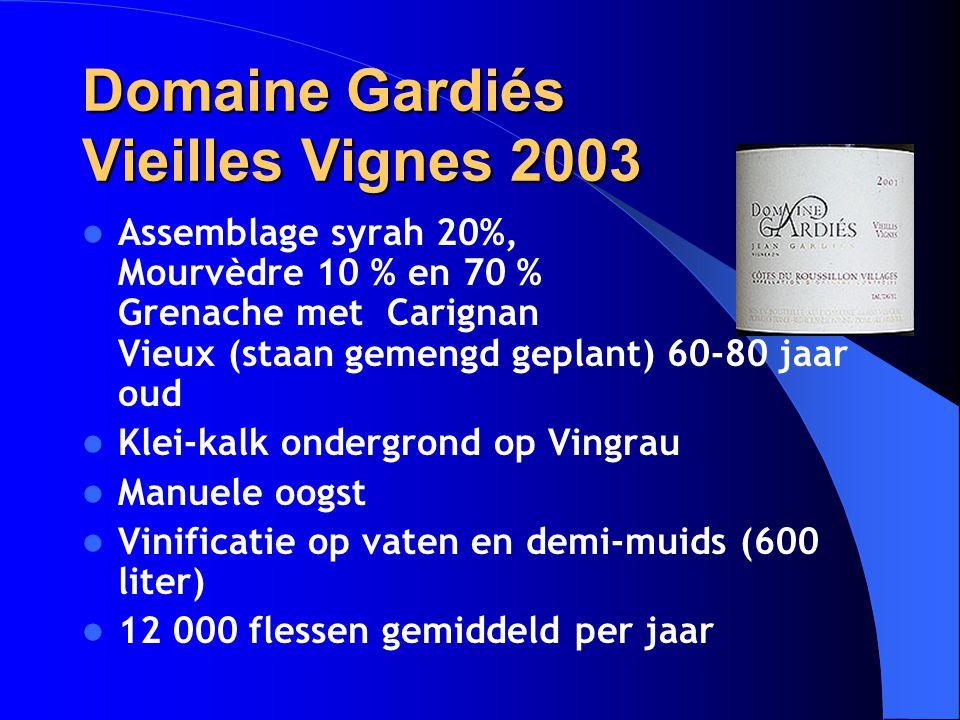 Domaine Gardiés Vieilles Vignes 2003