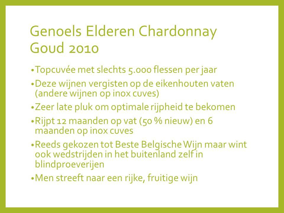 Genoels Elderen Chardonnay Goud 2010