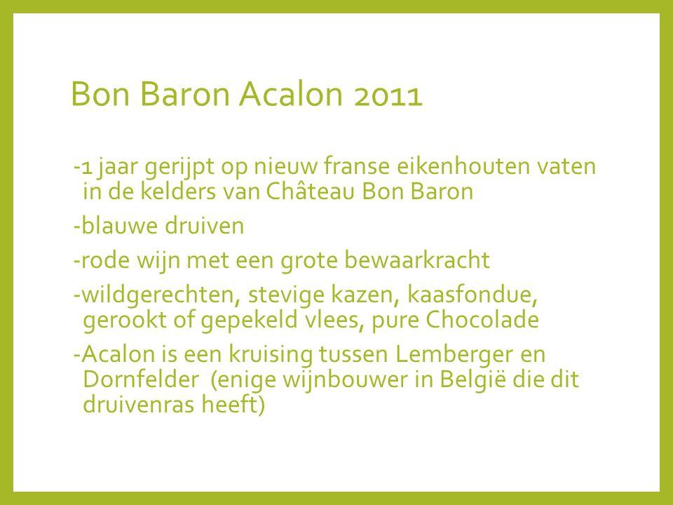 Bon Baron Acalon 2011