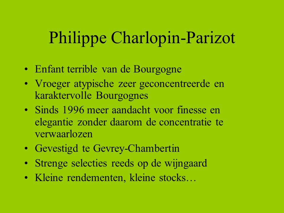Philippe Charlopin-Parizot