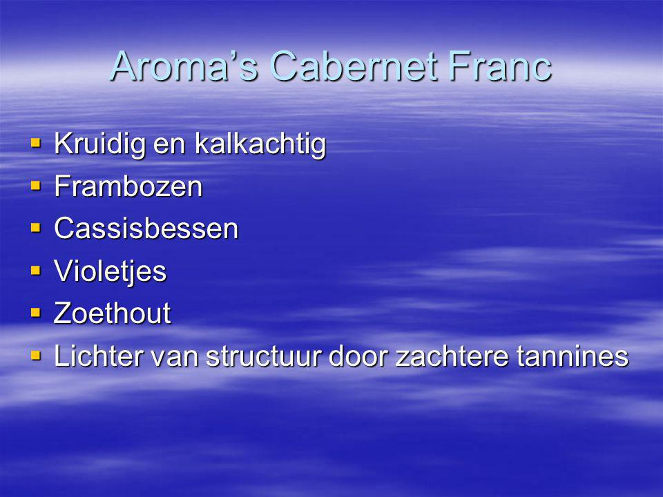 Aroma's Cabernet Franc