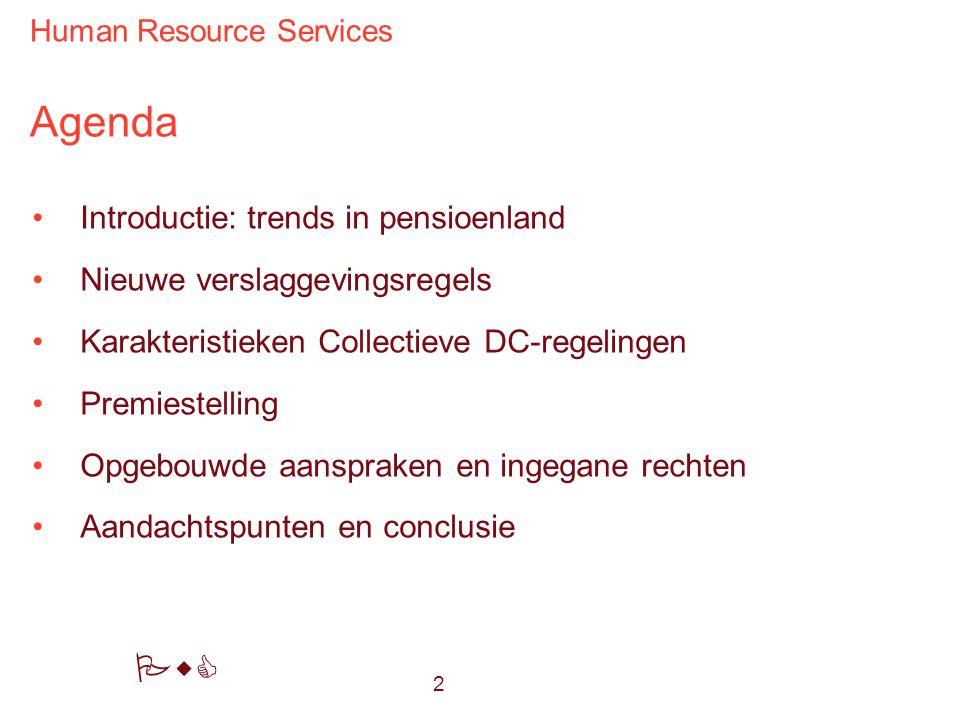 Agenda Introductie: trends in pensioenland Nieuwe verslaggevingsregels