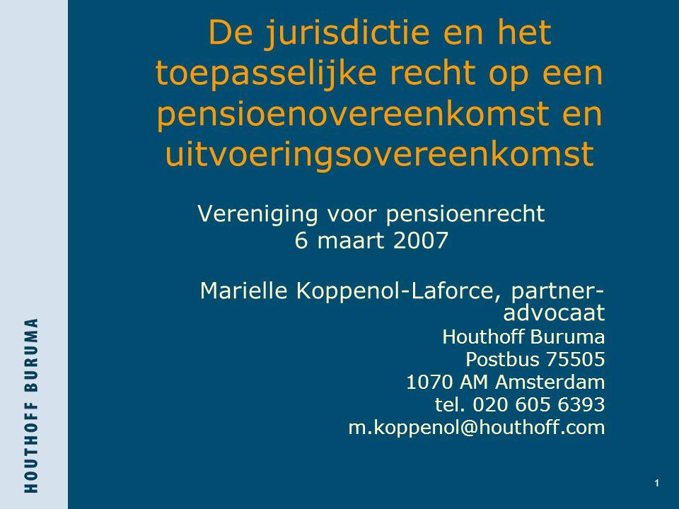 Vereniging voor pensioenrecht