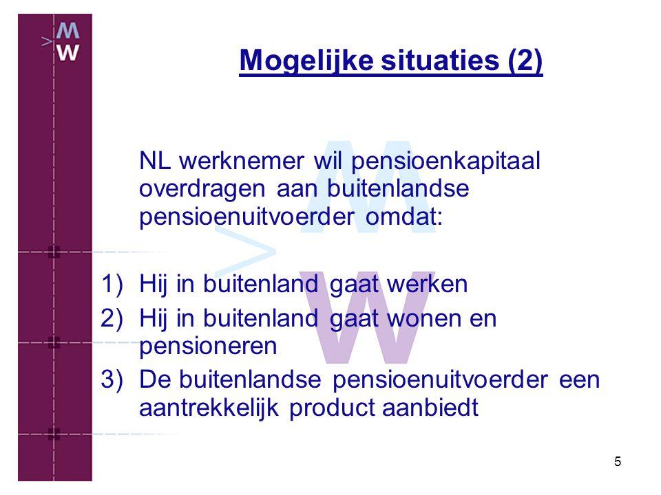 Mogelijke situaties (2)