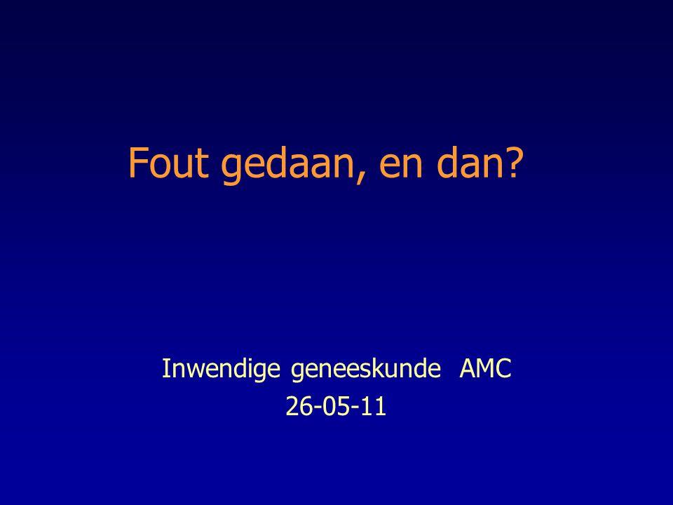 Inwendige geneeskunde AMC 26-05-11