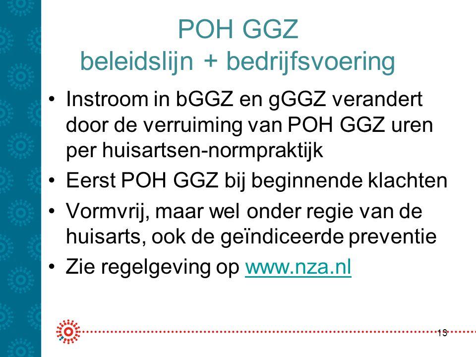 POH GGZ beleidslijn + bedrijfsvoering