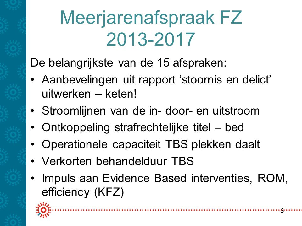 Meerjarenafspraak FZ 2013-2017