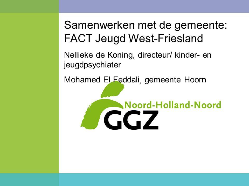 Samenwerken met de gemeente: FACT Jeugd West-Friesland