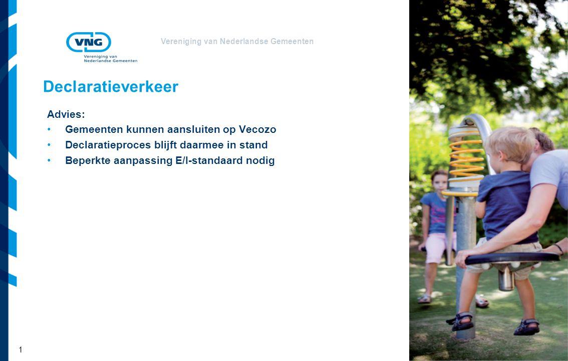 Declaratieverkeer Advies: Gemeenten kunnen aansluiten op Vecozo