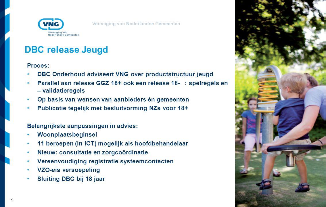 DBC release Jeugd Proces: