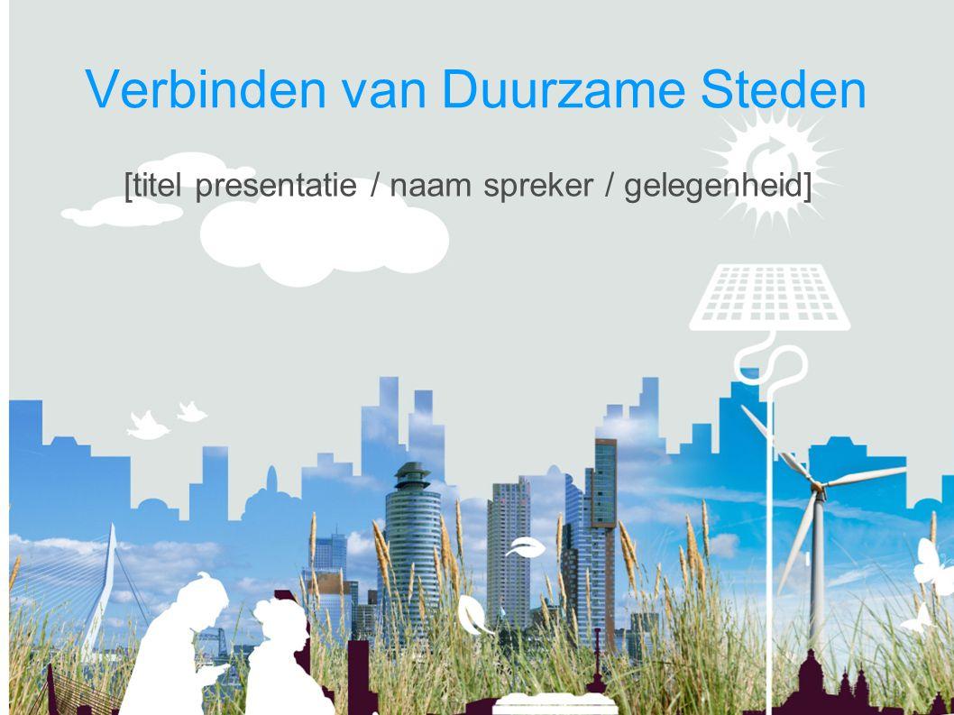 Verbinden van Duurzame Steden