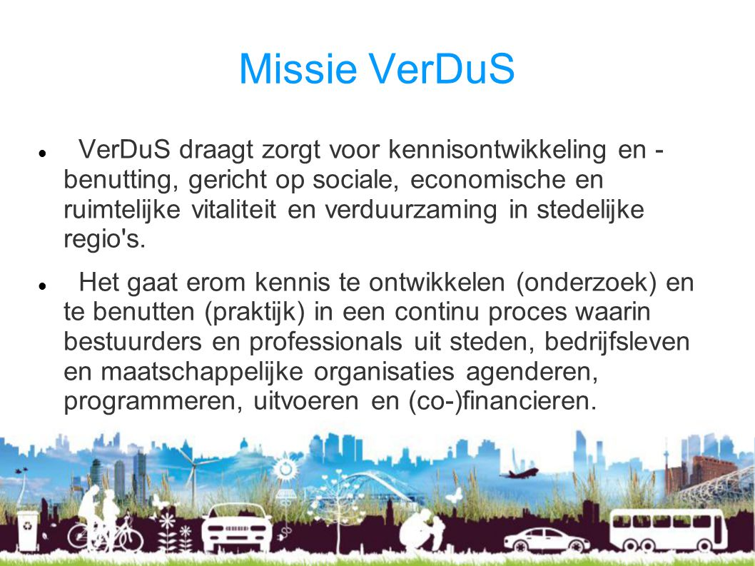 Missie VerDuS