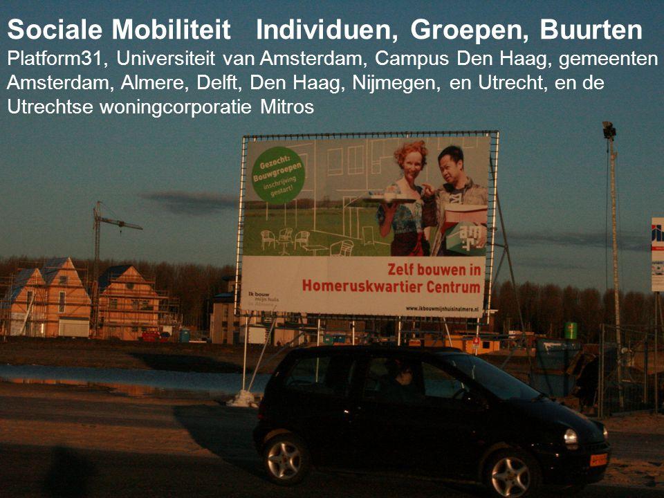 Sociale Mobiliteit Individuen, Groepen, Buurten