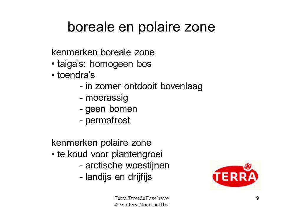 boreale en polaire zone