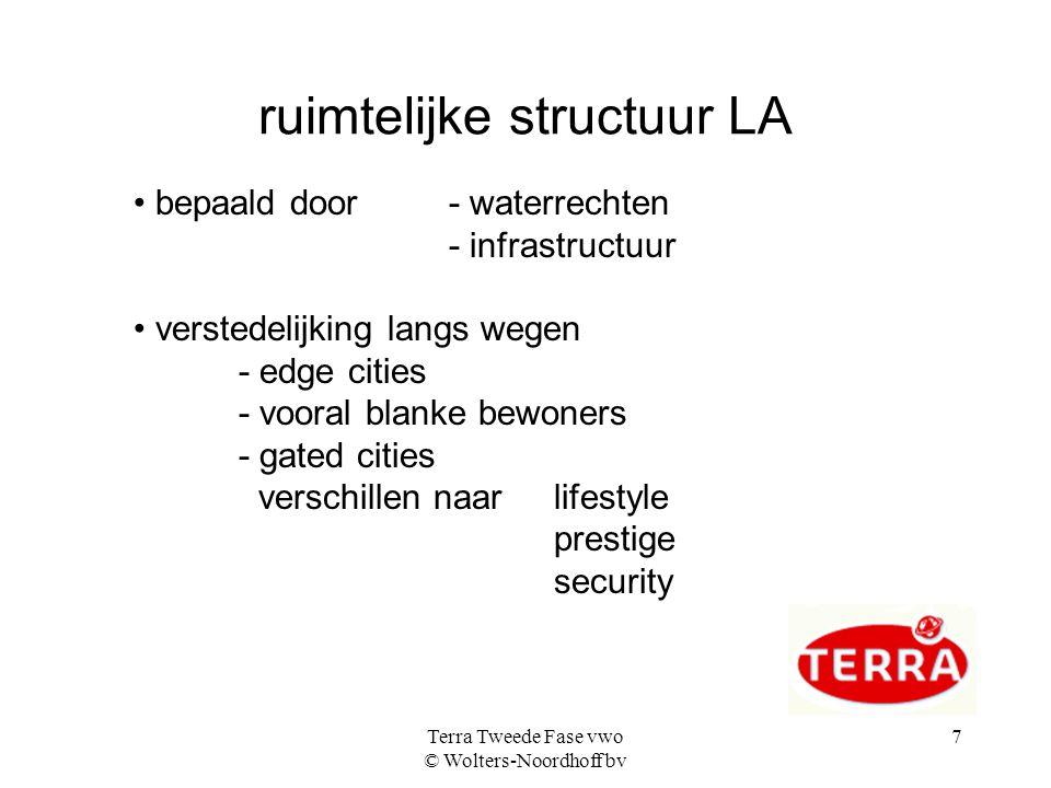 ruimtelijke structuur LA