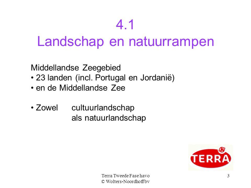 4.1 Landschap en natuurrampen
