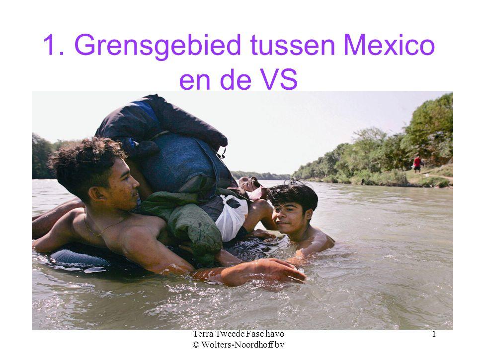 1. Grensgebied tussen Mexico en de VS