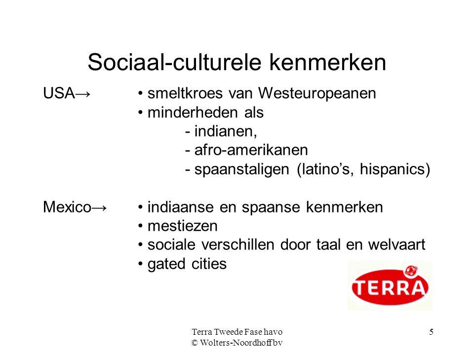 Sociaal-culturele kenmerken