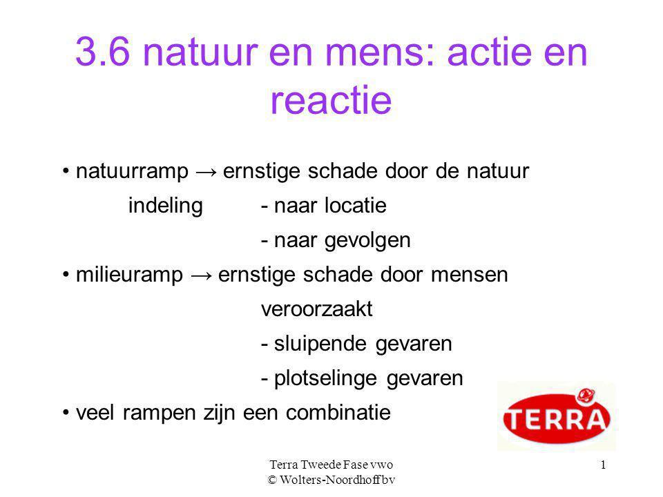 3.6 natuur en mens: actie en reactie