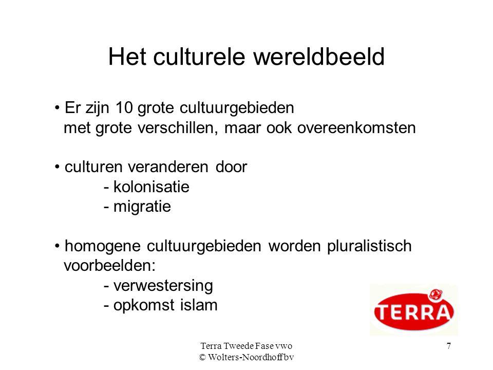Het culturele wereldbeeld