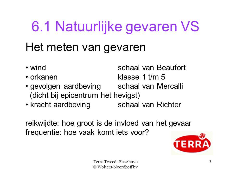 6.1 Natuurlijke gevaren VS