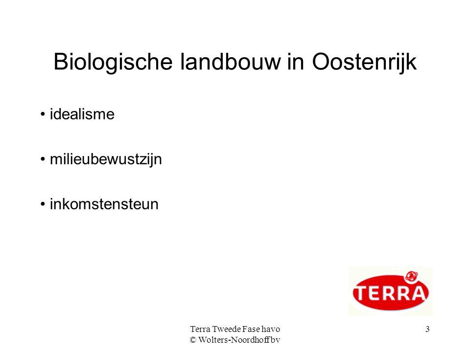 Biologische landbouw in Oostenrijk