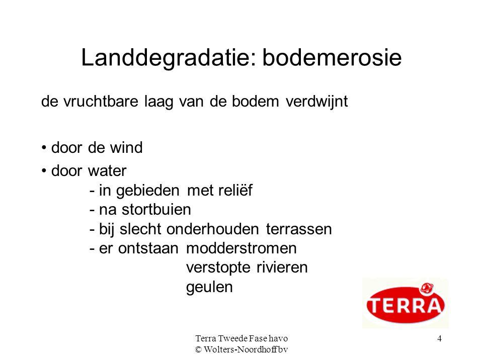 Landdegradatie: bodemerosie