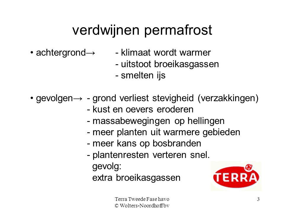verdwijnen permafrost