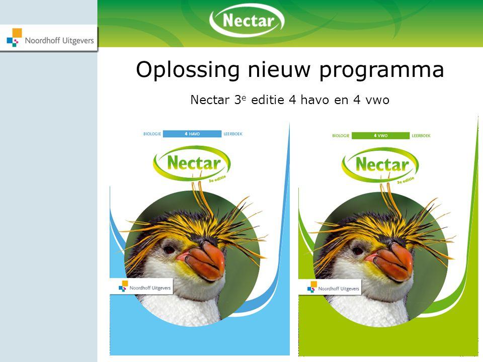 Oplossing nieuw programma
