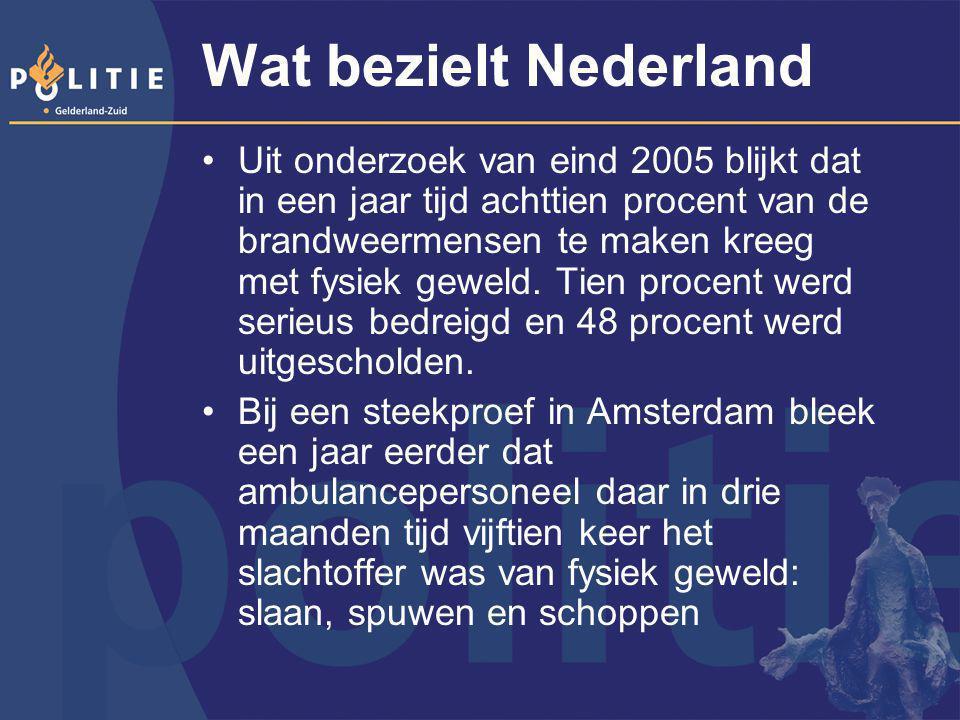 Wat bezielt Nederland