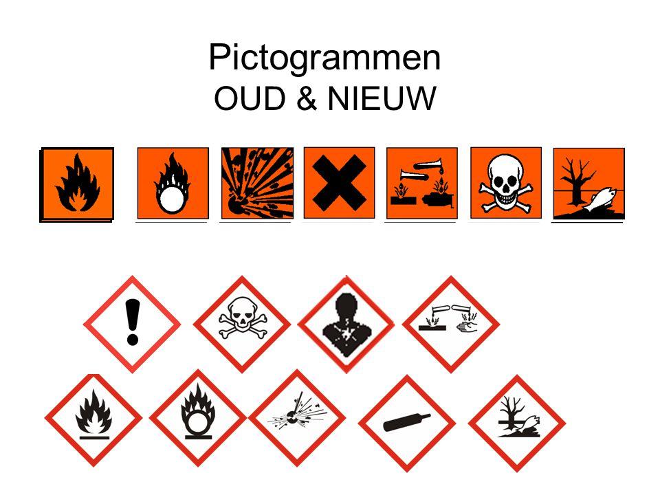 Pictogrammen OUD & NIEUW