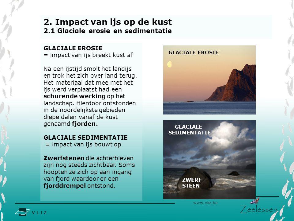 2. Impact van ijs op de kust